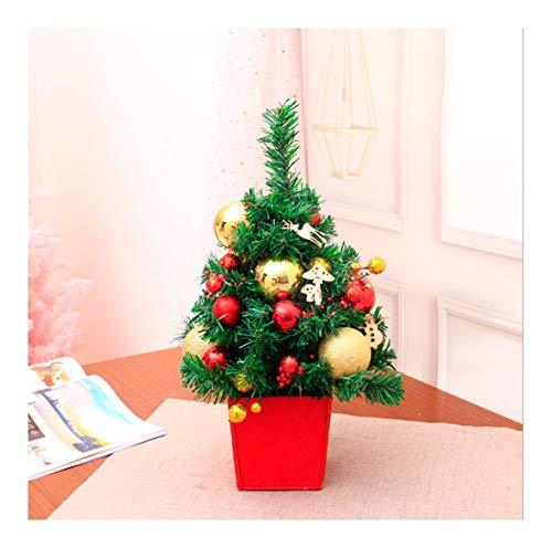 WUFANGFF Mini Weihnachtsbaum Handmade DIY Desktop Deko Multi-Color Geschenk 45 cm, B
