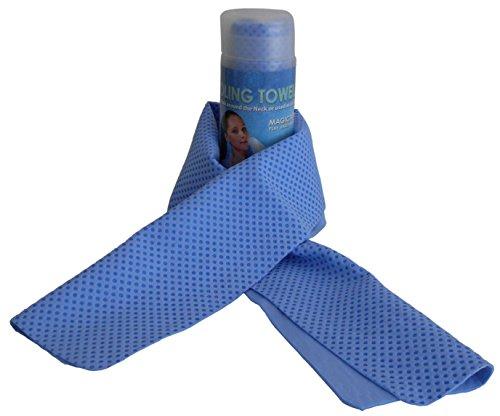 Magic Touches - Golfhandtücher in Blau, Größe 85cm X 17cm