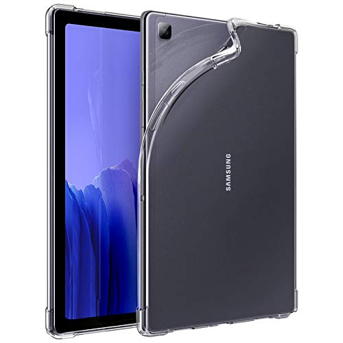 Dadanism Case for Samsung Galaxy Tab A7 10.4 Inch 2020 (SM-T500/T505/T507), [Shockproof, Corner Protection] Ultra Slim Lightweight Translucent Flexible TPU Back Cover for Samsung Tab A7 Tablet - Clear