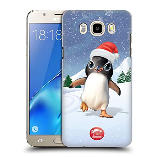 Head Case Designs Ufficiale Animal Club International Pinguino Animali Cover Dura per Parte Posteriore Compatibile con Samsung Galaxy J5 (2016)