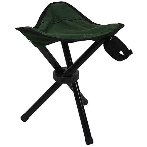 Taburete de camping plegable trípode al aire libre portátil silla de pesca ligera silla de viaje