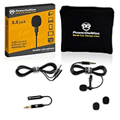 Lavalier microphone, designed by PowerDeWise, will take your sound recording quality to the next level Due to a well-established technology process the microphone has quality, reliability and protection from extraneous noise PLUG&PLAY no drivers need...