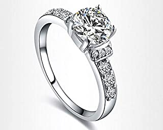 Exquisite Rings platinum plated with AAA zircon,Classic fashion Jewelry,101011372