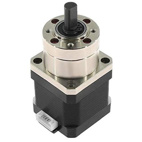 Amoyer 4-Lead Nema17 Stepper Motor 42 Motor Estrusore Gear Stepper Motor Rapporto 5.18: 1 Planetary Gearbox Nema 17 17hs4401