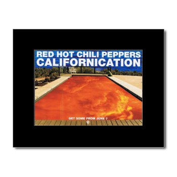 RED HOT CHILI PEPPERS - Californication Matted Mini Poster - 21x13.5cm