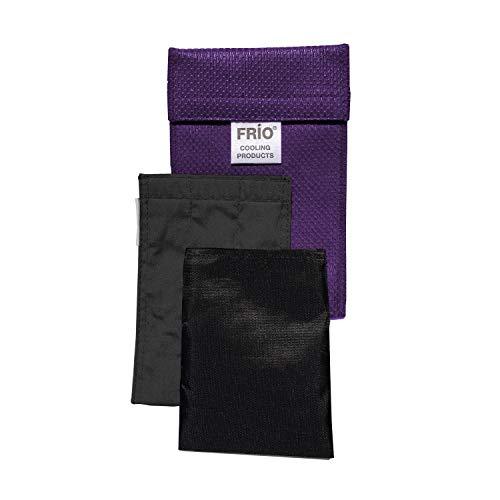 FRIO Kühltasche für Insulin, 9 x 11cm, blau - KEIN Eispack oder Batterien nötig, für ein Pump