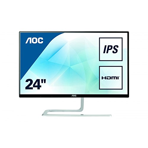 AOC 23.8 inch IPS Ultra-Thin Monitor, HDMI, VGA I2481FXH