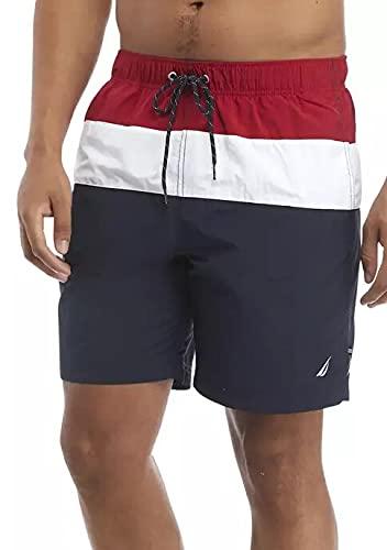 Nautica Men's Active Shorts (Small, Nautica Red)