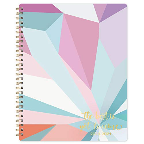 "2020-2021 Teacher Planner - Academic Lesson Planner with Quotes, 7.8"" x 9.8"", July 2020 - June 2021, Weekly & Monthly Pages with Thick Paper + Graph Paper + Special Dates + Holidays - Color Blocking"