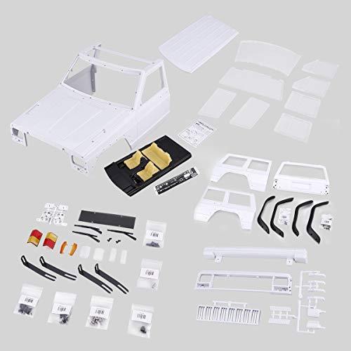 Greatangle AX-313 12.3inch / 313mm Kit de Bricolaje Shell Shell Body Shell para 1/10 RC Truck Crawler Axial SCX10 y SCX10 II 90046 90047