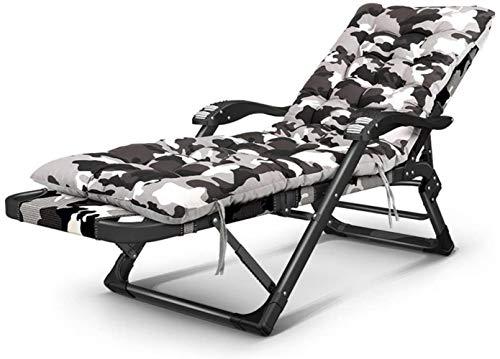 Chairs Folding, Lounge, Deck, Adjustable Gravity, Colour:B (Color : B)