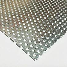 JumpingBolt Galvanized Steel Perforated Sheet .034