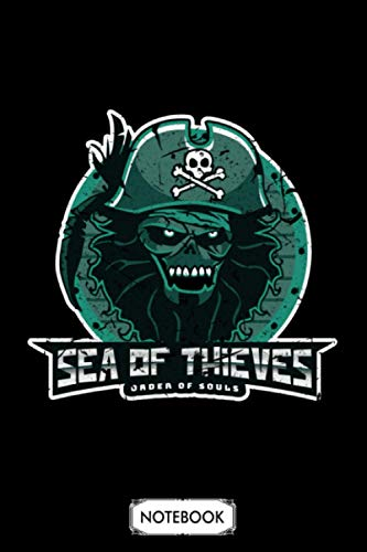 Sea Of Thieves Pirate Notebook: Planner, 6x9 120 Pages, Matte Finish Cover, Journal, Lined College Ruled Paper, Diary