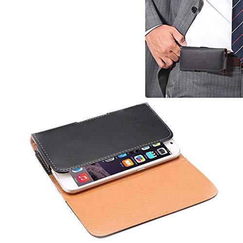 Wckxy Caso HNZZ Caso Universal del teléfono Caballo Loco Textura Vertical del Cuero del tirón Bolsa de Cintura/Volver con férula for iPhone 6 Plus y 6S Plus, Galaxy Note 8/5 Galaxy Note / N920 y S6