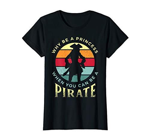 Womens Funny Pirate Freebooter Buccaneer Caribbean Adventure Shirt T-Shirt