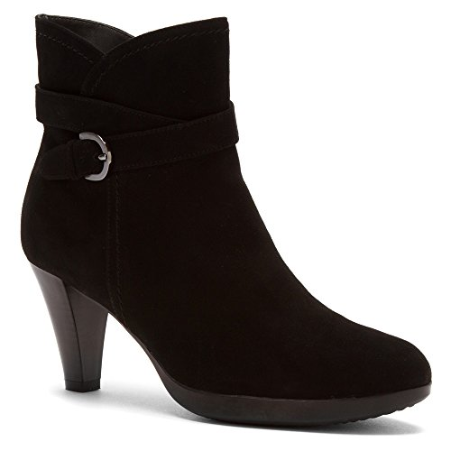 Blondo Women's Imane Black Casual Suede 9.5 M