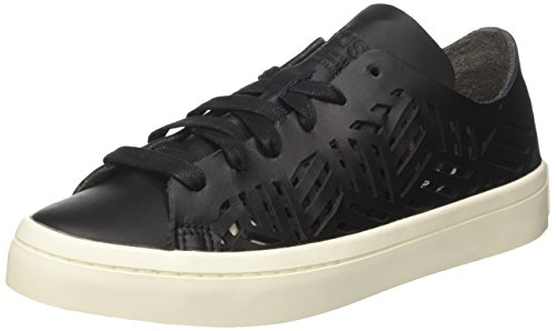 adidas Courtvantage Cutout, Women's Tennis Shoes, Multicolor (Core Black Core Black Off White), 7 UK (40 2/3 EU)