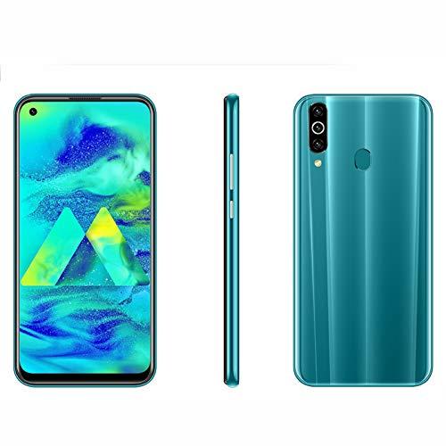 Sanniya Smartphones M40pro 6.35 Pulgadas Water-Drop Screen Movil Dual SIM Face ID Cámara de Tres Lentes Android 9.0 Smartphone