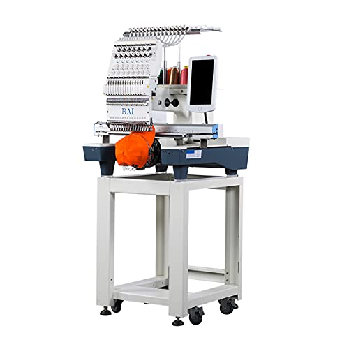 BAi Automatic Embroidery Machine for Hat, Computerized Commercial Embroidery for...