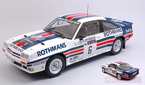 IXO Model 18RMC038C OPEL Manta 400 N.6 RAC Rally 1983 VATANEN-HARRYMAN 1:18