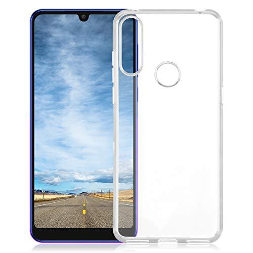 ROVLAK Hülle für Alcatel 3X 2019 Kratzfeste TPU Weiche Silikon Case+Stoßfestes Dünnes Klares Tasche für Alcatel 3X 2019 Smartphone Cover