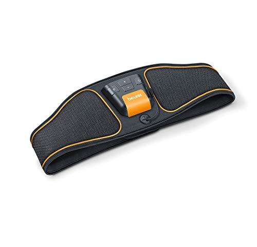 Beurer EM 37 - Cintura per Addominali EMS, per l'allenamento dei muscoli centrali e laterali, Circonferenza vita: circa 70 - 140 cm
