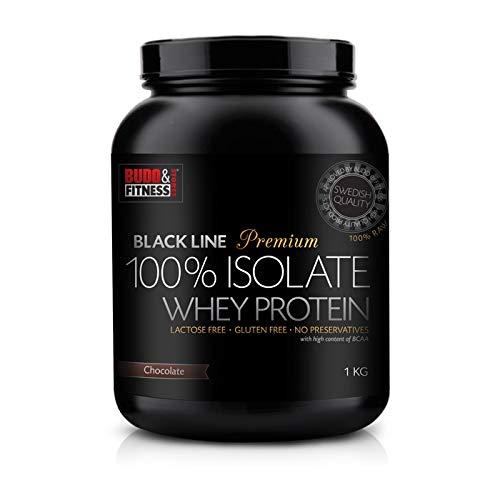 Budo & Fitness Black Line Premium 100% Whey 1kg (Chocolate)
