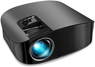"ZLSANVD Full HD Projector Mini Portable Projector Upgraded 4500 Lumens Video Projector 200"" HD LCD Home Cinema Projector S..."