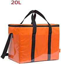 HeißTascheks Insulated Thermal Delivery Insulated Bag Food Delivery Package Cooler Box Fast Food Delivery Box Refrigerated Insulation 20L 28 24 24Cm 3 Colors (Color : B),C