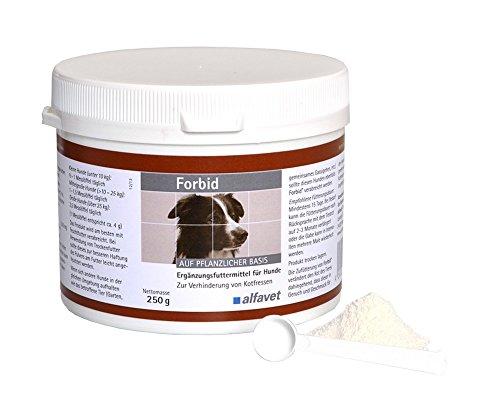 Forbid Einheit: 250 g Ergänzungsfuttermittel für Hunde und Katzen Zur Verhinderung von Kotfressen-macht den Kot für Hunde unangenehm