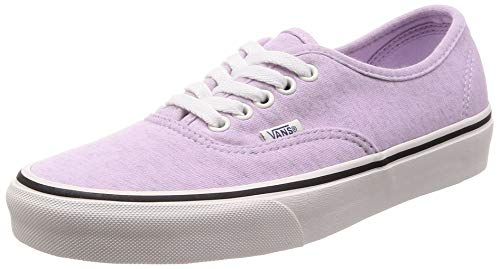 Vans Authentic (Jersey) Mens Skateboarding-Shoes VN-0A38EMU5F_8.5 - Lavender Fog/Snow