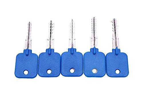 5 llaves de cruce con cerradura de cruz, llave maestra para bloqueo de cruz.