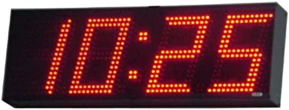 AE84/CC Stand-Alone, 4-Digit, Multi-Function Clock/Timer with 8-inch High Digits