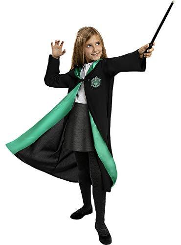 Funidelia | Disfraz Slytherin Harry Potter Oficial para niño y niña Talla 7-9 años ▶ Hogwarts, Magos, Películas & Series - Multicolor