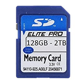 Elite Pro 128GB 256GB 512GB 1TB 2TB SDXC SD SDHC Class 10 Camera Memory Card for Camcorders Video Cameras Dash Cameras (512GB) 1 SDXC form factor Long Term Data Retention Durable, Reliable, and High Quality
