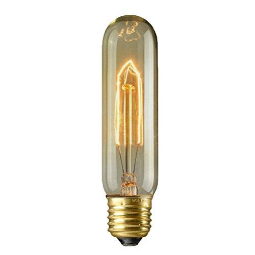 LEDMOMO 40W Edison Glühbirne Antik Vintage Style LED Glühlampe Warmweiß für Wandleuchten Deckenventilatoren Kronleuchter Pendelleuchten