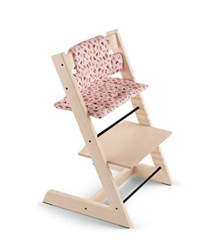 Coussin chaise haute Tripp Trapp coton bio Pink Fox - Stokke