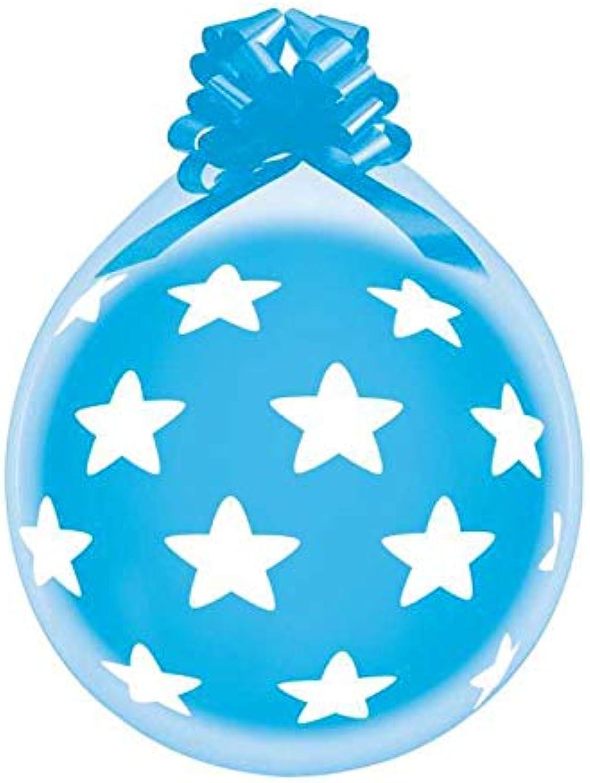 tienda de venta en línea Gemar R145-906A100 - - - Globos (100 Unidades), Diseño de Estrellas, Transparente  más descuento