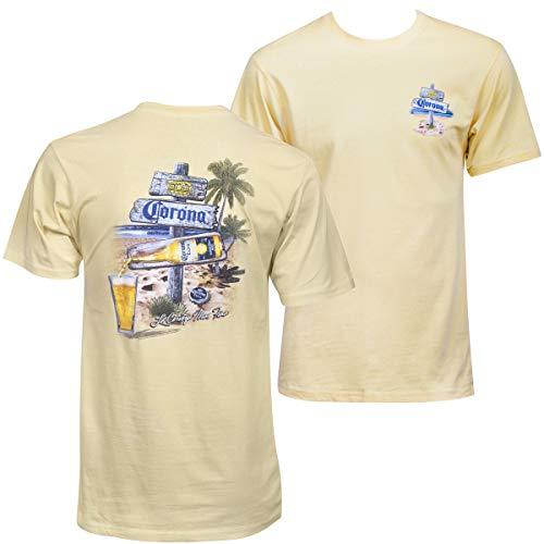 Corona Extra Afternoon Post - Camiseta - Amarillo - X-Large