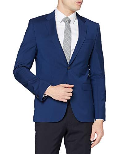 HUGO Herren Aldons Anzugjacke, Blau (Medium Blue 420), 48