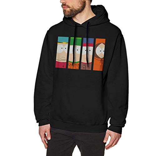 HSJCBHLS Sudaderas de Hombre South Park Season Mens Long Sleeve Sweatshirts...