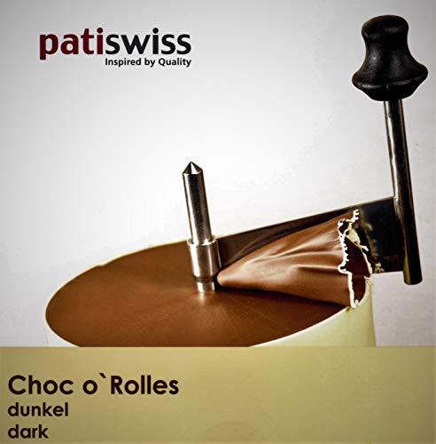 patiswiss Original Choc o` Rolles Schweizer Schokolade ZARTBITTER, 500g
