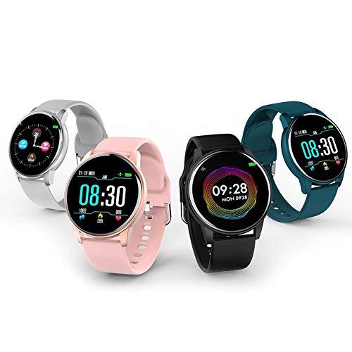 LDJ Hombres Y Mujeres Bluetooth Smart Watch ZL01 Pantalla Táctil Pulsera Inteligente Monitor De Ritmo Cardíaco IP67 Fitness Pulsera Deportes Reloj Inteligente A Prueba De Agua para Android iOS