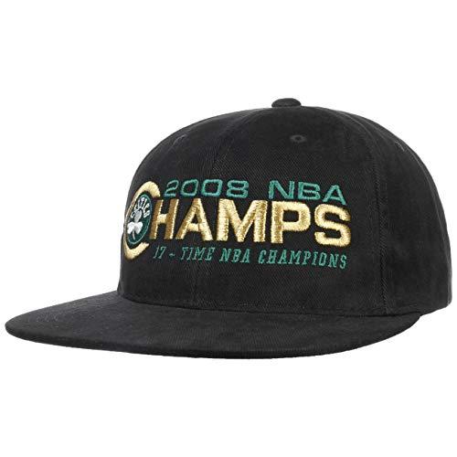 Mitchell & Ness Gorra NBA Champs Celtics& de Beisbol Baseball (Talla única - Negro)