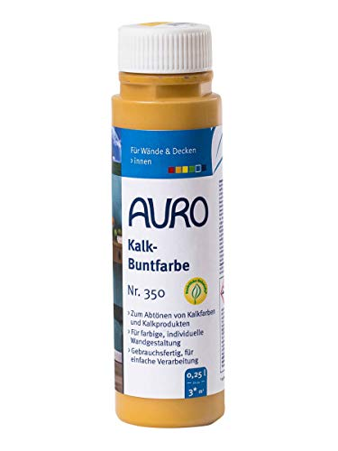 AURO Kalk-Buntfarbe Gelb 0,25 L