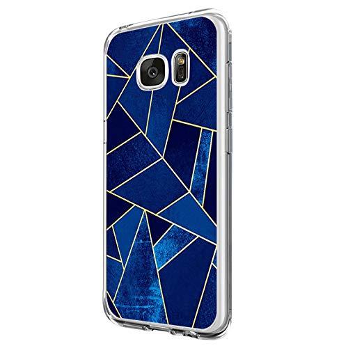 Funda Compatible con Galaxy S6/Galaxy S6 Edge, Funda para Suave Silicon Ultra Slim Fina Protección a Bordes y Cámara Compatible con Galaxy S6 Edge Plus -Transparente (Samsung Galaxy S6, 5)