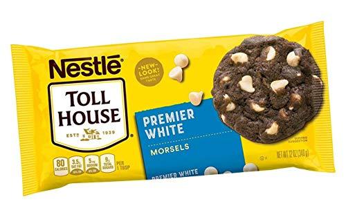 Nestle, Toll House, Premier White Morsels, 12oz Bag (Pack of 6)