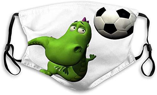 Stofdichte Sport Fave Cover Filter Bescherming Neus Mond Cover Stof Anti Vervuiling Bewijs Voetbal Voetbal Speler Flyind Hoofd Baby Draak Tekenen