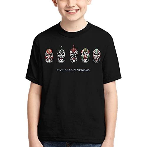 Camiseta de niño para niños, anime japonés, camiseta 3D, estampado gráfico de dibujos animados manga cosplay adolescente, Anime Deadly Venoms Máscara, 14 años