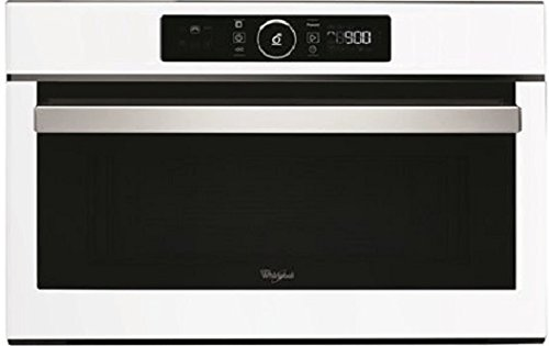 Whirlpool AMW730WH - Microondas y parrilla integrada (31 L, 1000 W), color blanco